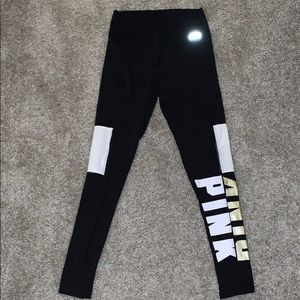 Ultimate bonded VS pink leggings!